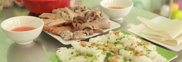 Phu Long Question cake with pork organs in Phan Thiet