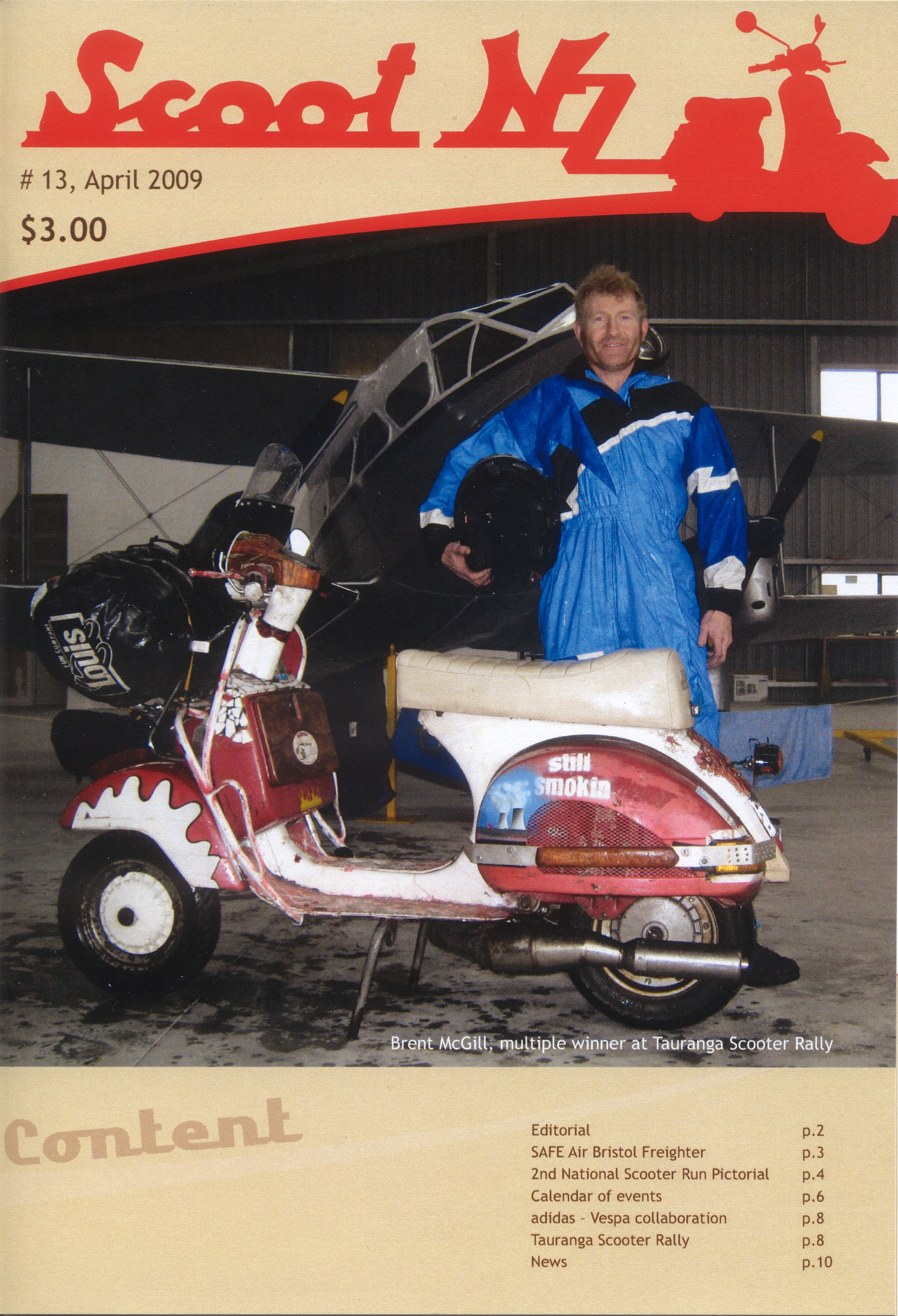 Scoot NZ April 2009 cover