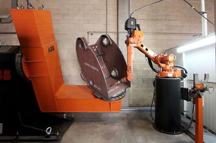 ABB welding robot