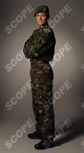 Former Miss England, Corporal Katrina Hodge - 2011