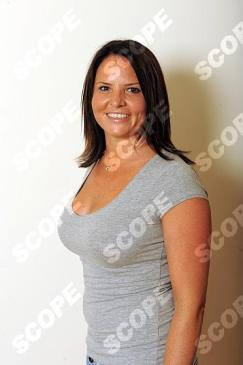 Claire O'Keefe at home - Breast Reduction - 2011