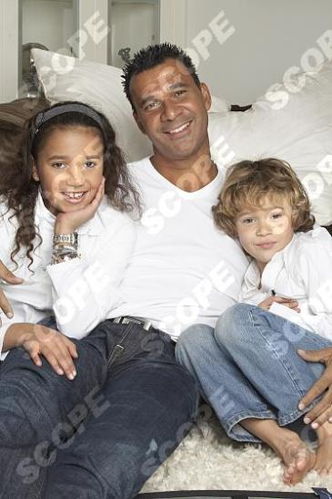 RUUD GULLIT AND FAMILY