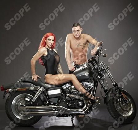 Jodie Marsh and Kirk Norcross - 2012