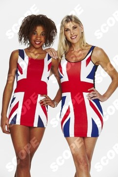 British Olympic Swimming Legend Sharron Davies and her daughter