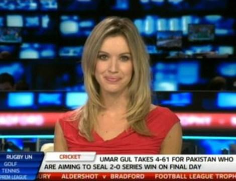 Charlie Webster on Sky Sports News