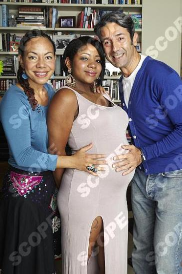 BARONESS OONA KING AND FAMILY