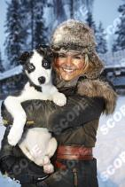 KATY HILL AND FAMILY IN LAPLAND