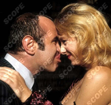 EXCLUSIVE BRIAN MOODY PHOTO-SHOOT WITH BOB HOSKINS ON THE SET OF THE MOVIE THE LONG GOOD FRIDAY. 1980
