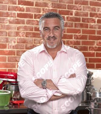 Celebrity baker chef Paul Hollywood