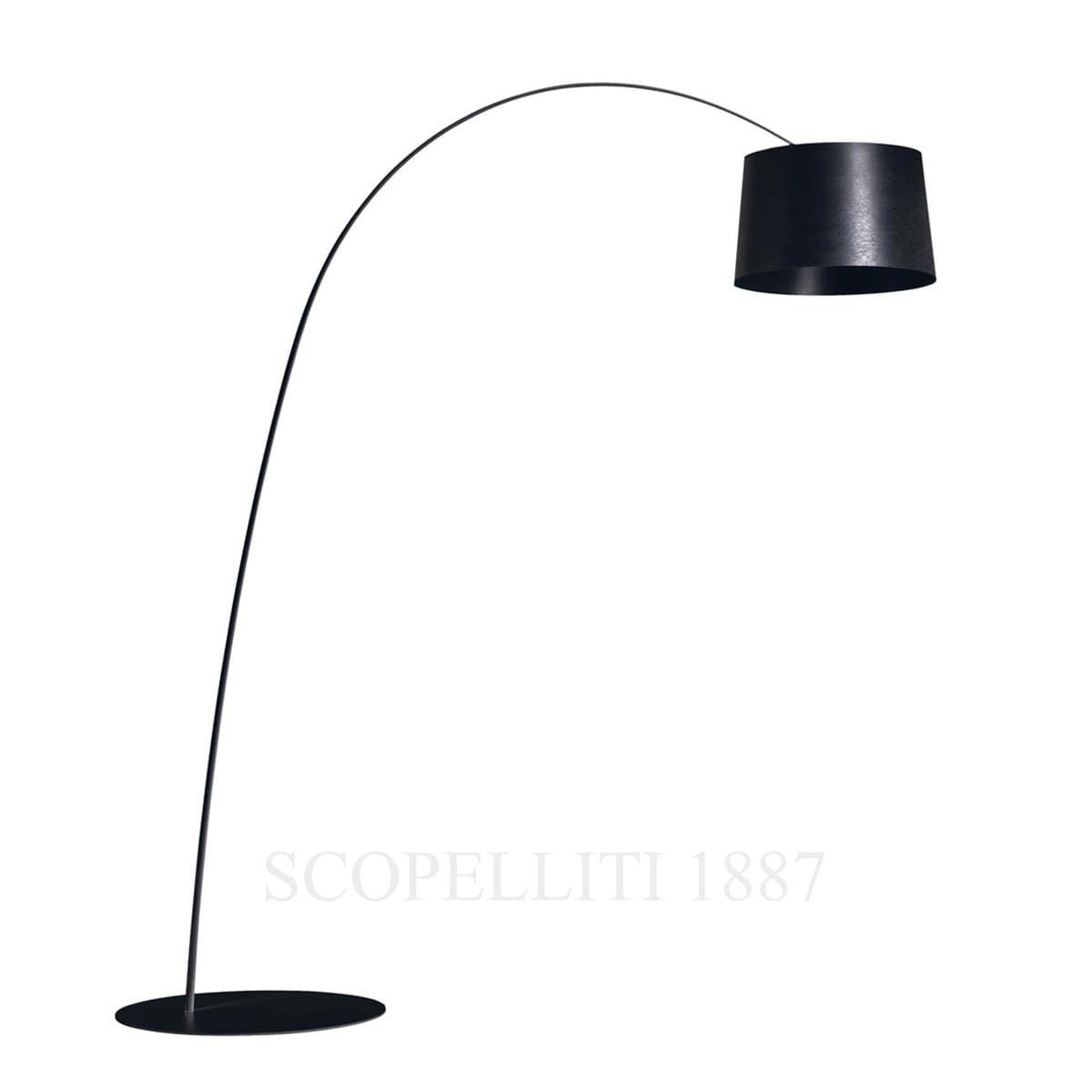 foscarini twiggy black floor lamp