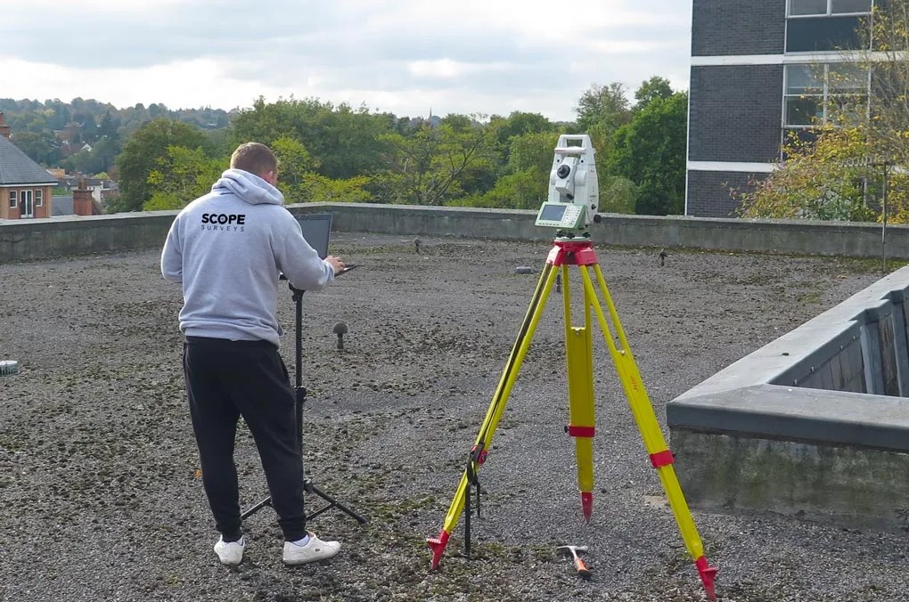 Measured Building Survey by Scope Surveys London