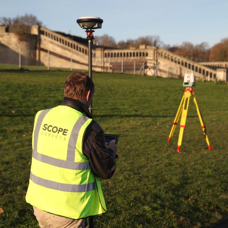 GPS Surveying by Scope Surveys London