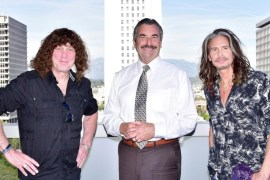 Stuart Smith, Heaven & Earth; Chief Charlie Beck, Los Angeles Police Chief; Steven Tyler, The Loving Mary Band/Aerosmith