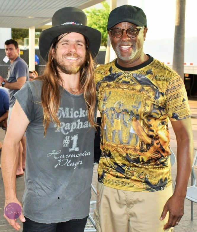 Lukas Nelson and Keith Allen Sr. Music Program Director Academy Prep Center of Tampa