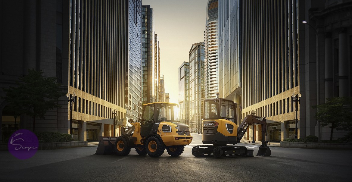 Volvo CE's noiseless electric machines now availa