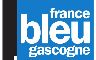 Pierre Baillet au micro de France Bleu Gascogne