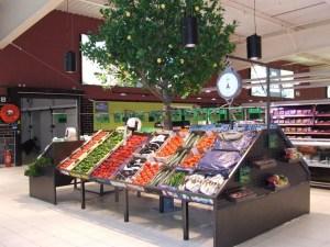 SCOP Laporte - mobilier rayon fruits et légumes