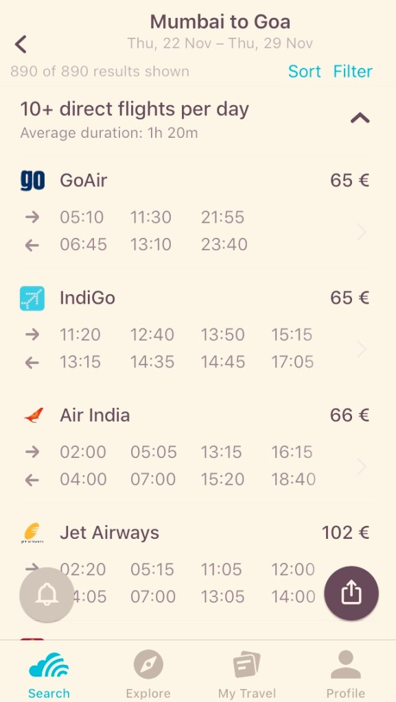 le compagnie aeree low cost indiane