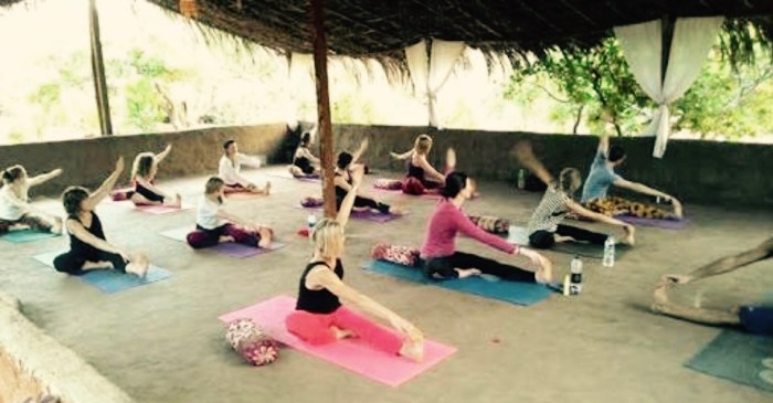 Shala del Banyan tree yoga resort Goa