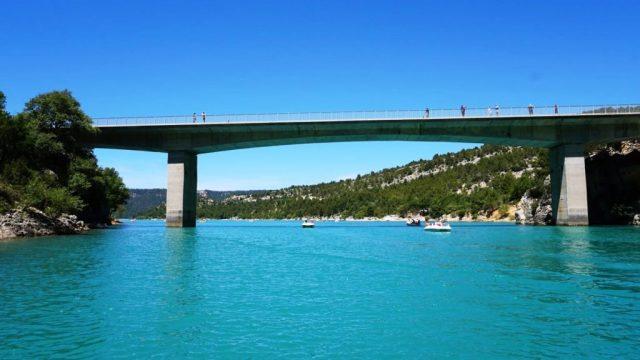 Gole del Verdon : il Ponte di Galetas
