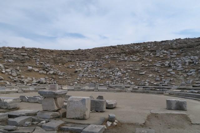 Il teatro di Delos
