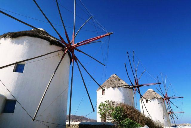 Mykonos: mulini a vento