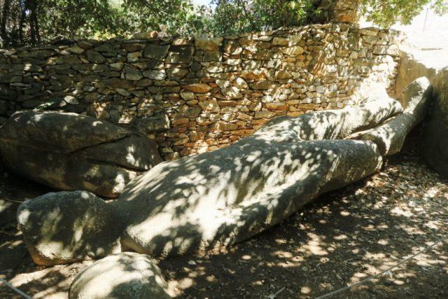 Naxos: il Kouros nel giardino di Flerio