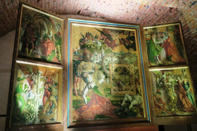 Abbazia di Novacella: Santa Caterina d'Alessandria