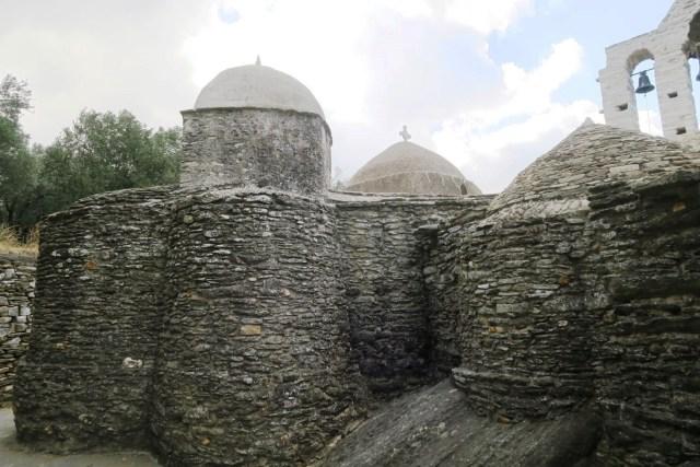 entroterra di Naxos : Panagia Drosian