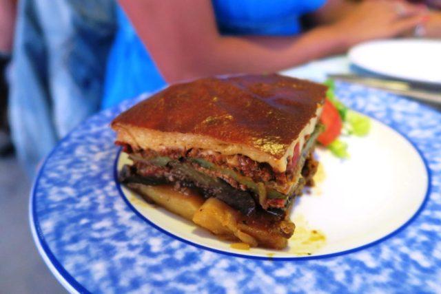 Cosa mangiare in Grecia - Moussaka