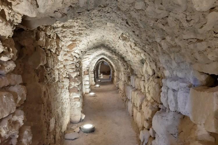Gallerie del castello di Kerak