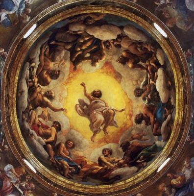 Affresco della Cupola di San Giovanni - Correggio