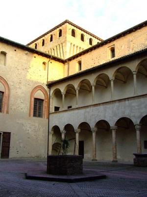 Cortile d'Onore Castello di Torrechiara