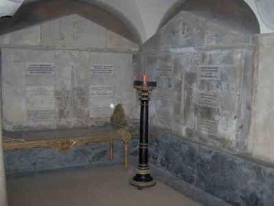 Cripte farnesiane Giuseppe Verdi chiesa della Steccata