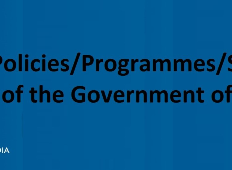 govt. schemes and polices