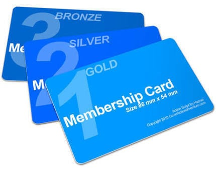 custom membership cards scorecards unlimited
