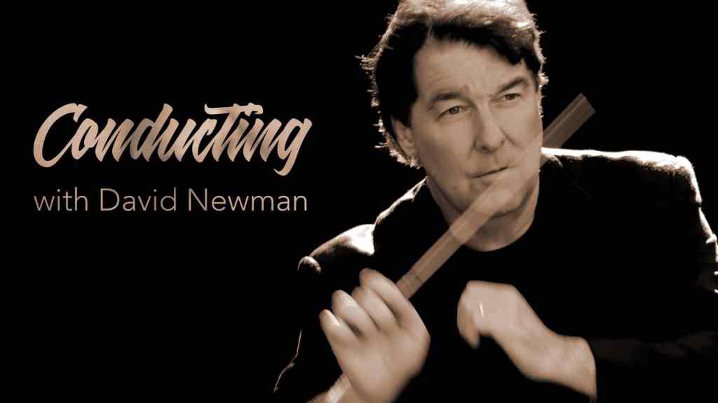 David Newman Conducting