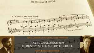 Ravel Challenge 2019 with Thomas Goss