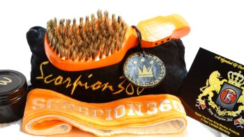 Florida Orange Wave Brush Deluxe Gift Bundle Kit