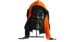 Orange/Hunter Green Reversible Silk Du-Rag
