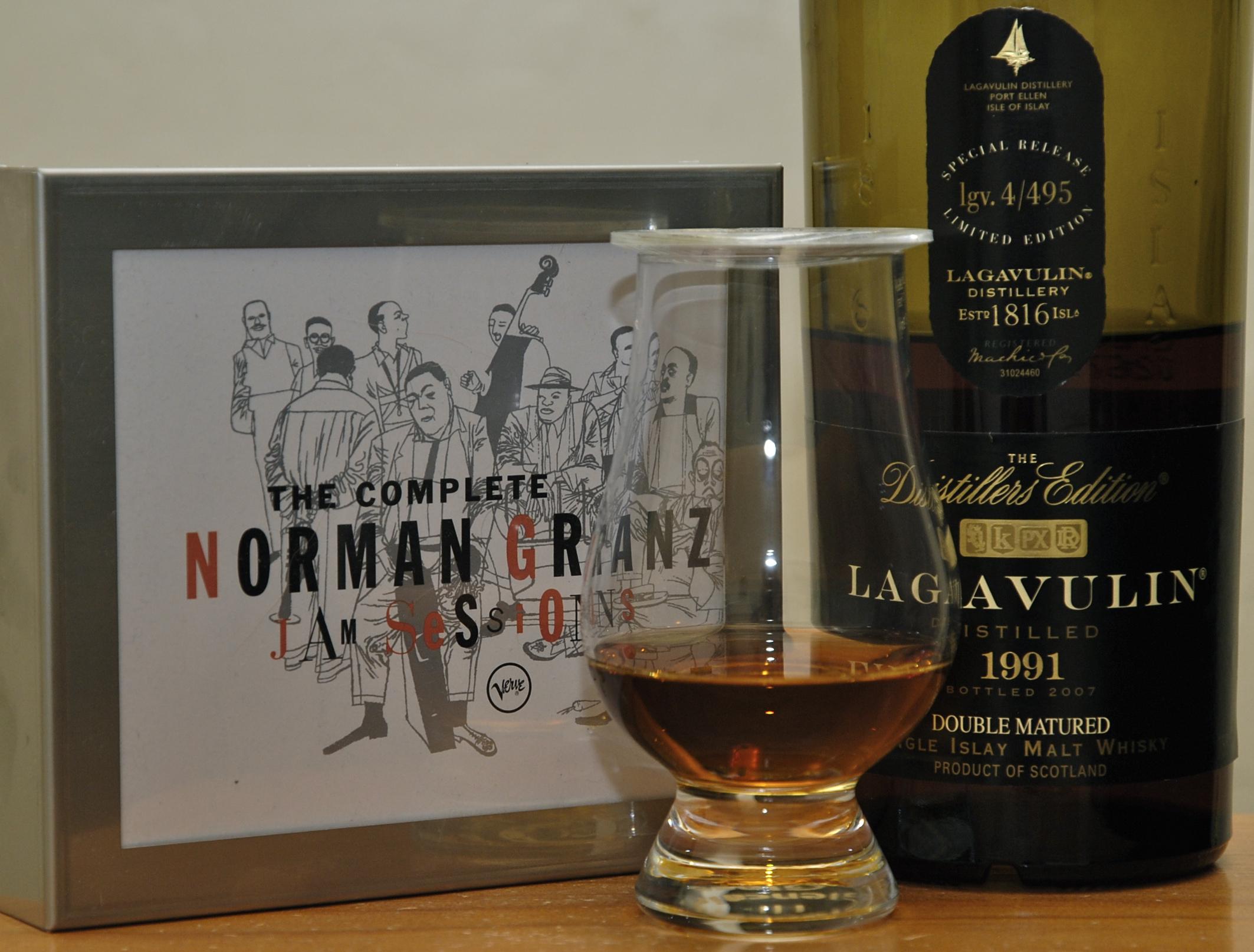 Norman Granz and Lagavulin DE
