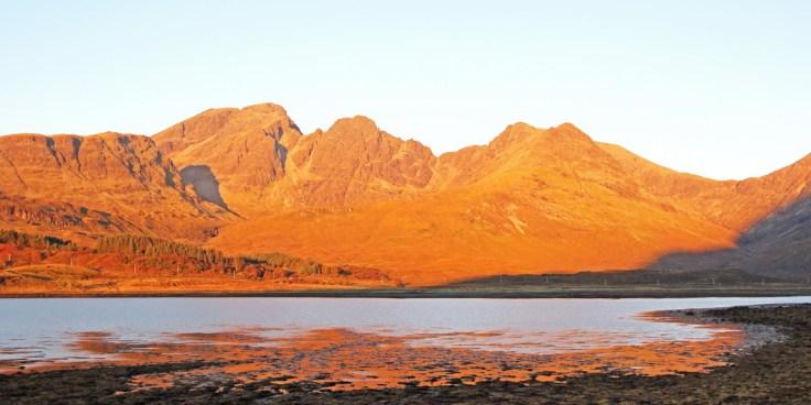 Bla Bheinn (Blaven) At Sunrise, Skye
