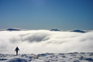 Ski Mountaineer Cairngorm - Feb 2010