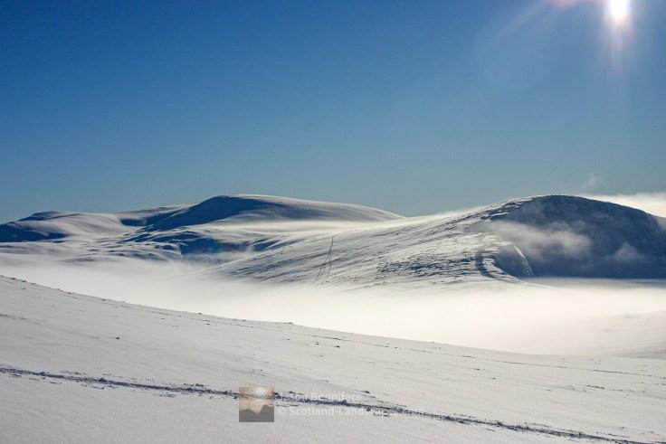 Ben Macdui Snow - Feb 2010, Cairngorm