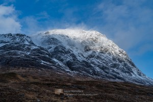 The eastern face of Stob Dearg, Buachaille Etive Mor, Lochaber