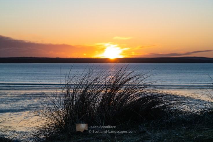 Sunset, Dunnet Dunes Caithness