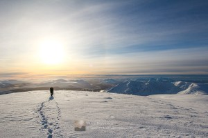 Creag Meagaidh Winter Panorama, Lochaber