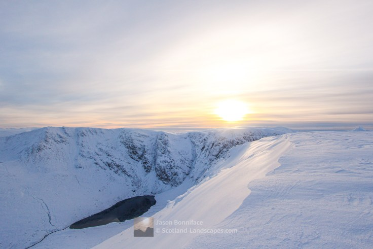 Creag Meagaidh Winter Afternoon, Lochaber