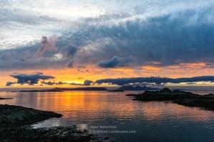 Sunset - Eigg and Rum, Lochaber