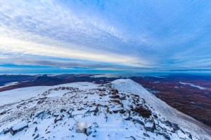 Winter Afternoon - Cul Mor Summit, Assynt & Ullapool